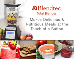 Blendtec Total Blender - Lifeforce Harmonious Healing for People and Pets